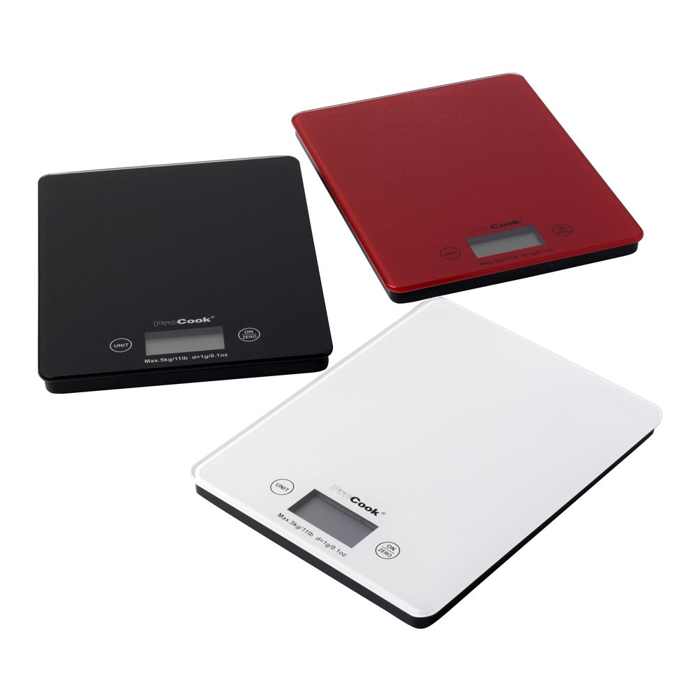 ProCook Glass Electronic Kitchen Food Scales
