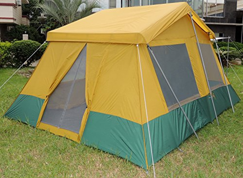Two room cabin tent 10 39 x 14 39 camp stuffs for What is a tent cabin