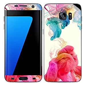 Theskinmantra Flowing colors SKIN/STICKER/DECAL for Samsung Galaxy S7 Edge