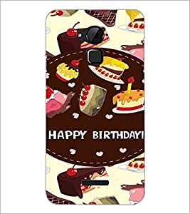 PrintDhaba Quote D-2650 Back Case Cover for COOLPAD NOTE 3 LITE (Multi-Coloured)