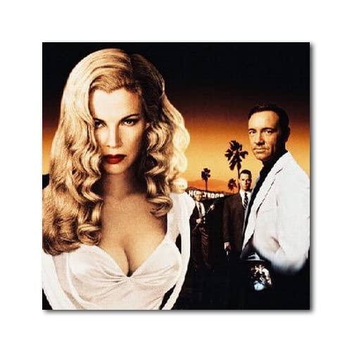 Kim Basinger Color Box Canvas Print   Gallery Wrapped   (12x12 Inches)