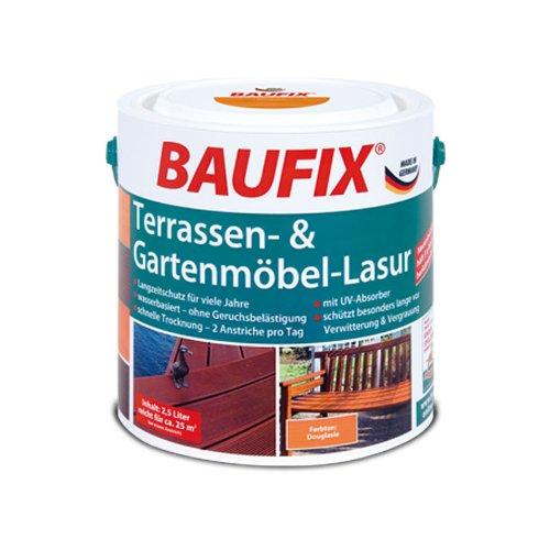BAUFIX Terassen- & Gartenmöbel-Lasur douglasie