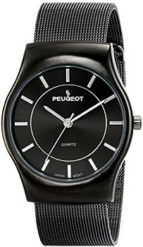 Peugeot Mesh Bracelet Men's Watch