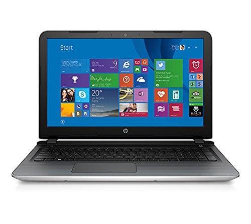 HP 15-ab035AX 15.6-inch Laptop (AMD A8-7410/8GB/1TB/Windows 8.1/AMD Radeon R7 Series M360), Natural Silver