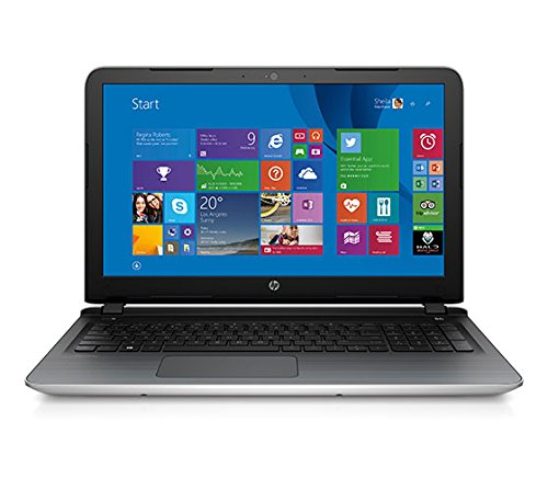 HP 15-ab035AX 15.6-inch Laptop (AMD A8-7410/8GB/1TB/Windows 8.1/AMD Radeon R7 Series M360), Natural Silver