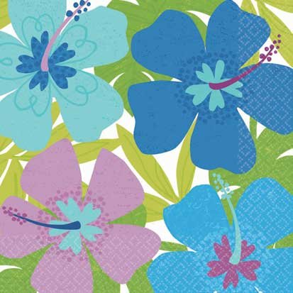 Floral Paradise Cool Lunch Napkins 16ct