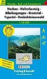 echange, troc Cartes Freytag - Carte de randonnée : Wachau, Dunkelsteiner Wald, Yspertal, Jauerling, mit touristischen Informationen ( WK, 071)