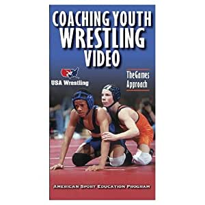Amazon com coaching youth wrestling video the games approach vhs