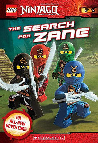 Lego Ninjago: The Search for Zane (Chapter Book #7) (Lego Ninjago Chapter Books)