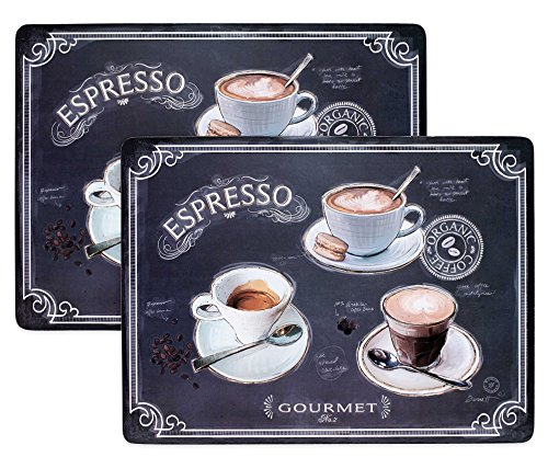 2 Coffee House Cork Back Placemats (Avanti Coffee compare prices)