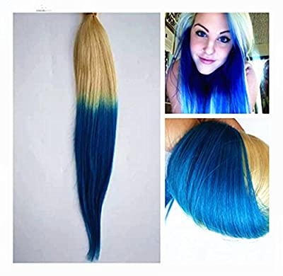 "Full Shine 18"" to 22"" Remy Human Hair Ombre Tape in Human Hair Extensions Full Head Extensions"