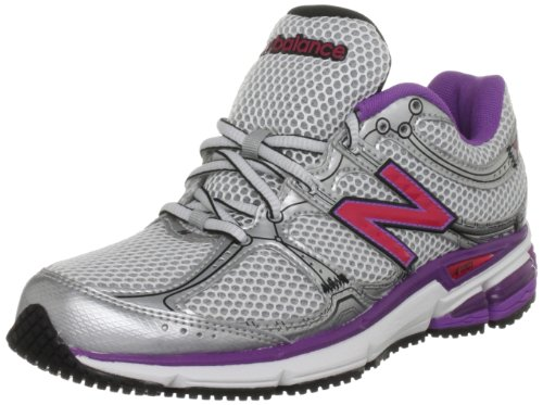 New Balance Women's W780WV White/Pink Trainer 5 UK, 37.5 EU, 7 US B