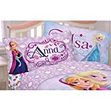 Disney Frozen Bed Sheet Set Elsa Anna Celebrate Love Bedding