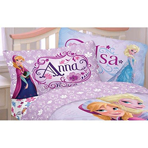 Disney-Frozen-Bed-Sheet-Set-Elsa-Anna-Celebrate-Love-Bedding