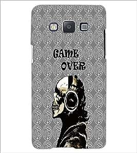 PrintDhaba Skeleton D-4235 Back Case Cover for SAMSUNG GALAXY E5 (Multi-Coloured)