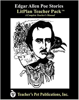 edgar allan poe stories litplan a novel unit teacher guide with daily lesson plans. Black Bedroom Furniture Sets. Home Design Ideas