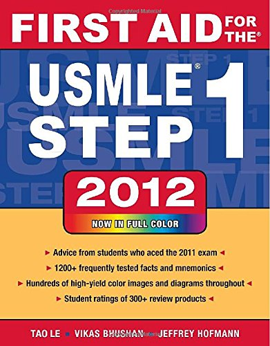 First Aid for the USMLE Step 1 2012 (First Aid USMLE) (First Aid Usmle Step 1 2012 compare prices)