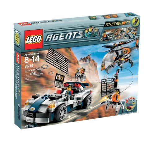LEGO Agents Turbo-Car Chase Amazon.com