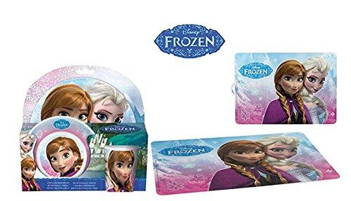 Set regalo melamina colazione motivo frozen nuovo!! SALVAMANTEL frozen, la regina delle nevi, CON immagine di frozen regalo tazza per microonde, in offerta solo tiendadeleggings