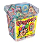 Ring Pop, Jewel Shaped Hard Candy Var...
