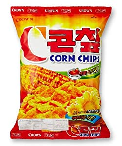 Crown Corn Chip Hot & Spicy 79g. X 1 Bag from Crown