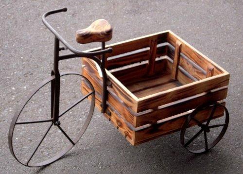 木製三輪車65 65×38×42h 281418