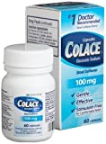 51ni8wh1JuL. SL160  Colace Stool Softener Docusate Sodium, 60 Count Capsules Reviews