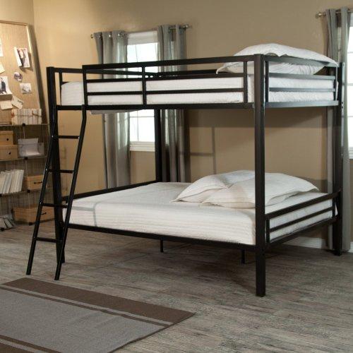 Black Metal Bunk Beds 4385 front