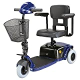 CTM HS125 3 wheel Scooter, Blue