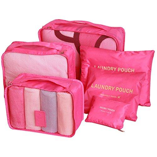 Missofsweet 7-Set di intimo da uomo, calzini e scarpe-Astuccio Beauty Bra Bag Wash-Organizer per cosmetici 12233-4b