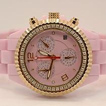 Aqua Master Ladies Ceramic Diamond Watch 1.25ctw W1153