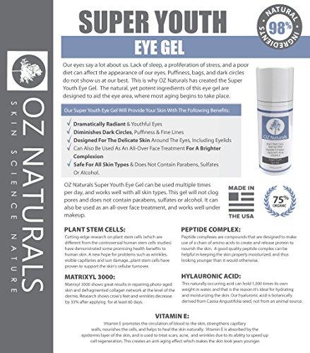 销量第一,OZ Naturals 抗皱/祛黑眼圈 眼霜 15ml图片