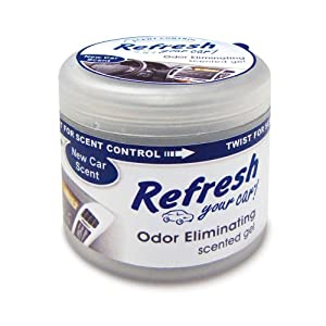 Refresh your car 4 5 oz scented gel air - Best smelling air freshener ...