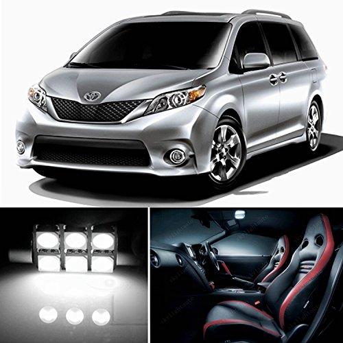21pcs-led-premium-xenon-white-light-interior-package-deal-for-toyota-sienna-2011-2016