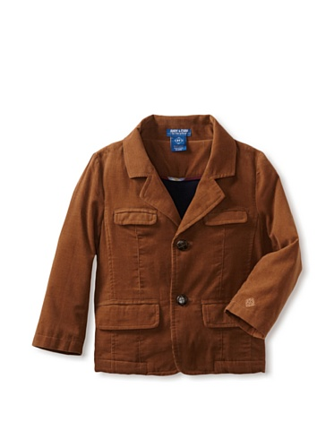 Andy & Evan Boy's The Ivy Leaguer Cord Blazer, Tan, 3T