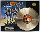 KISS Destoyer Gold LP Record Signature Series Limited Edition Display