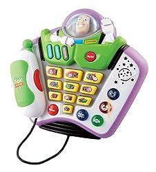 Vtech Disney 80-109303 Buzz Light Year Learn Talk and Teach Phone
