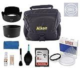 Omax accessories combo for nikon dslr d3200 /d3300/d5200/d5300/d5500 (18-55 & 55-200 vr ii lens) Image