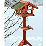 Pet Products - Karlie Bird's World Wild Vogelhaus Runa, 46 x 30 x 121 cm, Naturholz