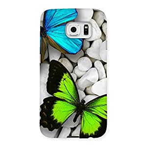 Gorgeous Premier Butterflies Multicolor Back Case Cover for Samsung Galaxy S6