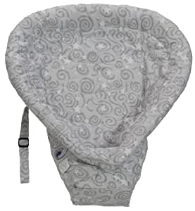 ERGObaby Original Heart 2 Heart Infant Insert, Galaxy Grey (Discontinued by Manufacturer)