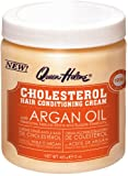 Queen Helene Cholesterol Hair Conditioning Creme Argan Oil, 15 Ounce