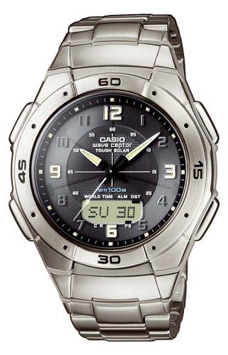Casio WVA-470TDE-1AVEF Wave Ceptor Tought Solar Watch
