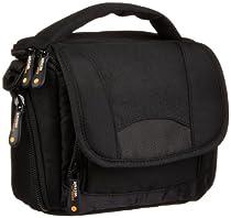 AmazonBasics Camcorder Tasche (mit Schulterriemen) schwarz