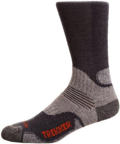 Bridgedale Woolfusion Trekker Men's Sock - Gunmetal, 9-11.5