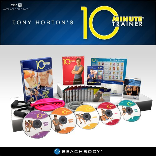 10 Minute Trainer: Tony Horton's Workout for the Busiest People Fitness DVD Program