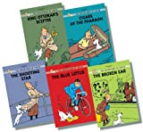 Tintin Young Readers' Edition Collection 2 - 5 Books RRP £34.95 (The Broken Ear; Cigars of the Pharaoh; King Ottokar's Sceptre; The Blue Lotus; The Shooting Star) Herge