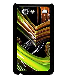 ColourCraft Abstract Image Design Back Case Cover for SAMSUNG GALAXY S ADVANCE I9070