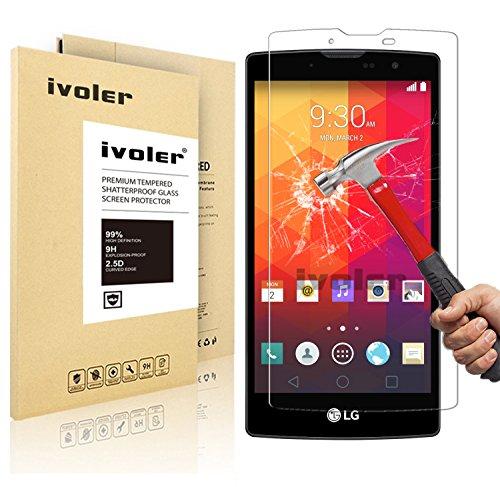 LG Magna / LG G4c Pellicola Protettiva, iVoler® Pellicola Protettiva in Vetro Temperato per LG Magna/ LG G4c - Vetro con Durezza 9H, Spessore di 0,2 mm,Bordi Arrotondati da 2,5D-Shockproof, Trasparenza ad alta definizione, Facile da installare- Garanzia a vita