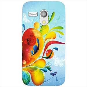 Motorola Moto G Back Cover - Pop Out Designer Cases